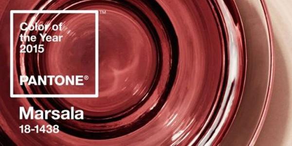 El color Pantone del 2015 es el Marsala.