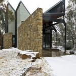 Under the Moonlight, la casa de todo amante de la nieve. #Arquitectura