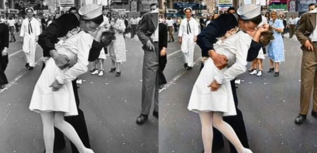 25 fotografías históricas transformadas a todo color