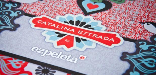 Desplegable de la colección Catalina Estrada para Ezpeleta.