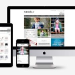 La web de Neroli by Nagore diseñada por Lombok Design.