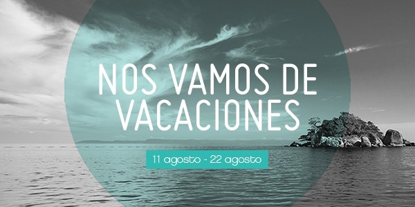 Vacaciones de verano 2014.