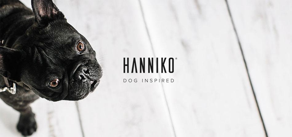 HANNIKO, marca de productos para perros.