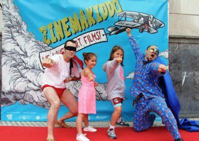 zinemakiddo sección del festival de cortos de donosskino