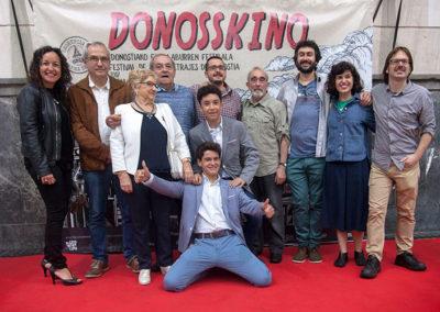 Photocall del festival de cortos de Kristonkino
