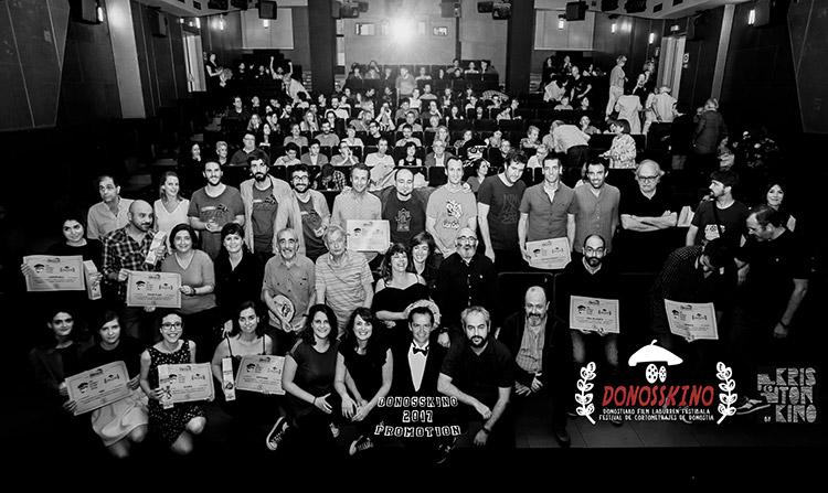 Ganadores del festival de cortos organizado por Kristonkino.