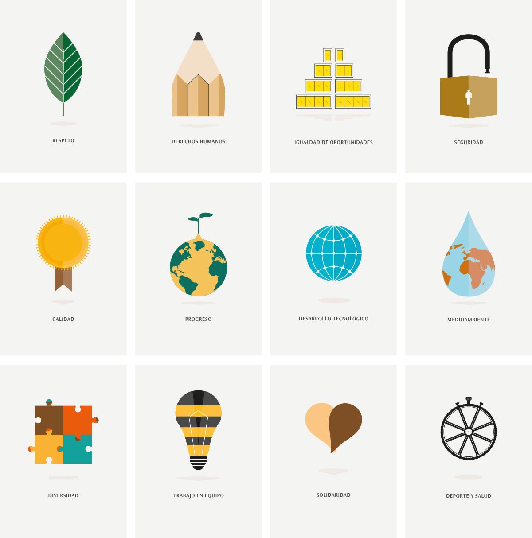 ilustraciones del señor bermudez para el trabajo realizado para Grupo Elektra y colaboración con Lombok Design