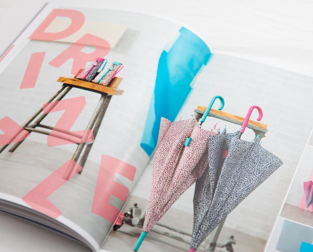 Paraguas coloridos Ezpeleta