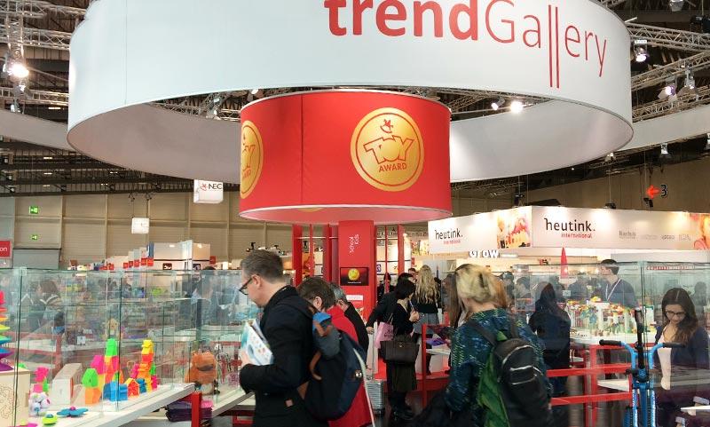 El Packaging de dëna toys presentado en la Feria de Nüremberg