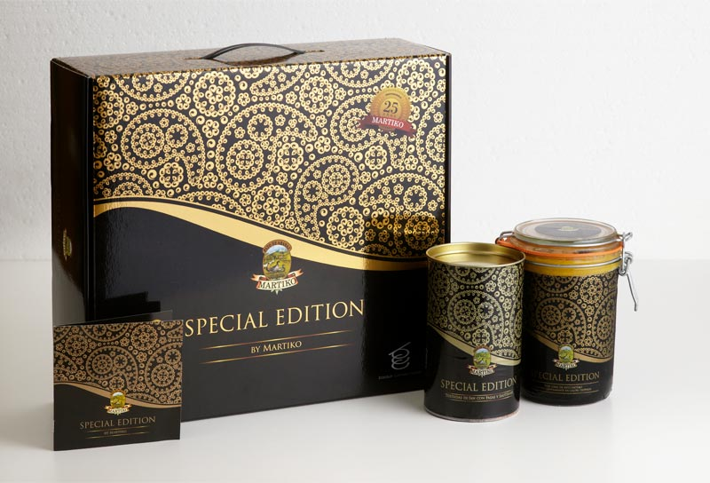 Packaging de Martiko hecho por Lombok