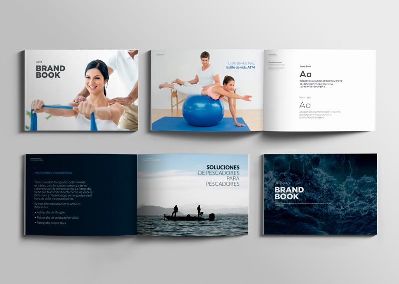 Brandbook de ATM y de U Fish Pro