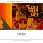 Un diseño web para grandes películas en formato pintxo
