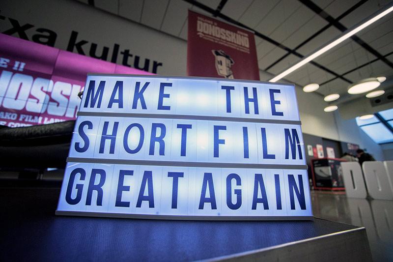 Make the short film great again