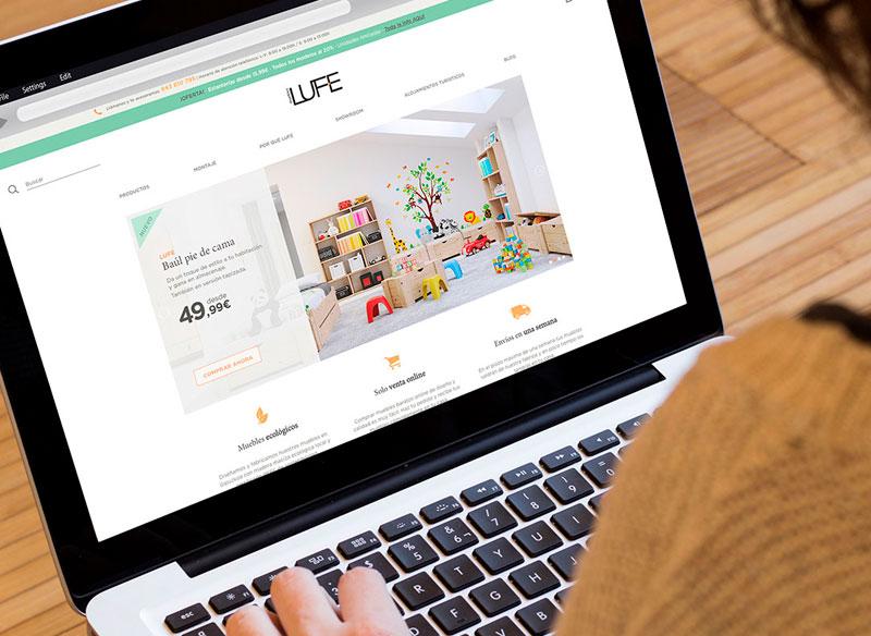 Diseño página web tienda online
