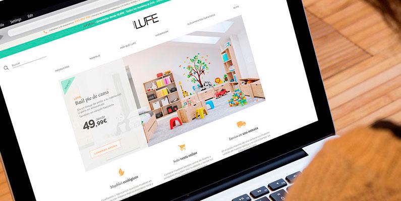 El año intenso de Muebles LUFE se merece estrenar nueva página web