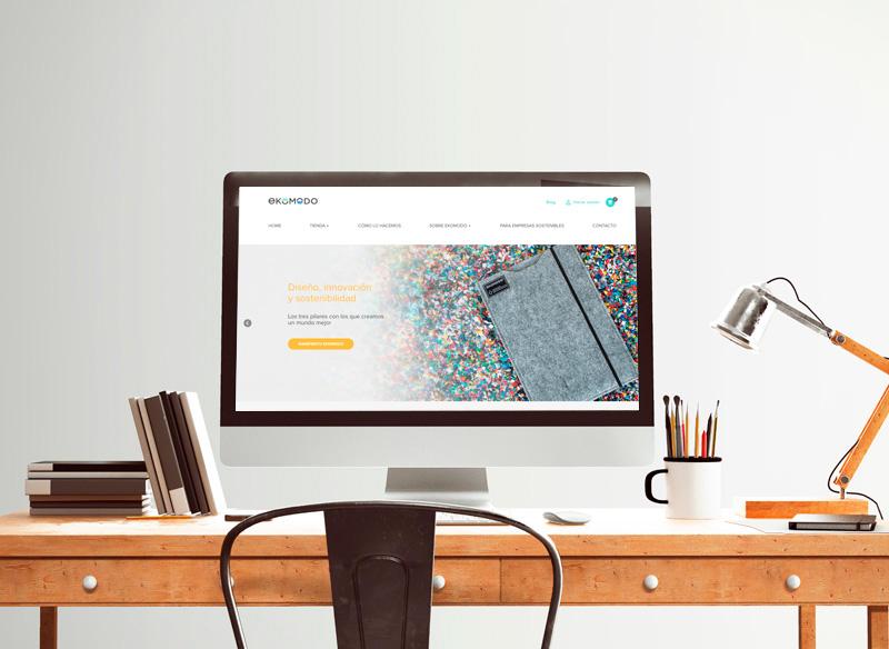 Desarrollo Página Web Ekomodo