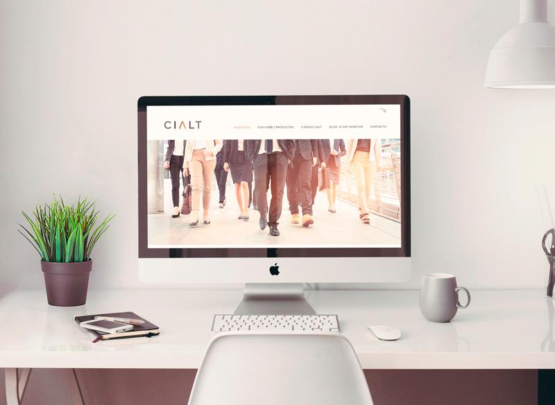 La nueva página web de Cialt, expertos en asesores en derecho fiscal y mercantil