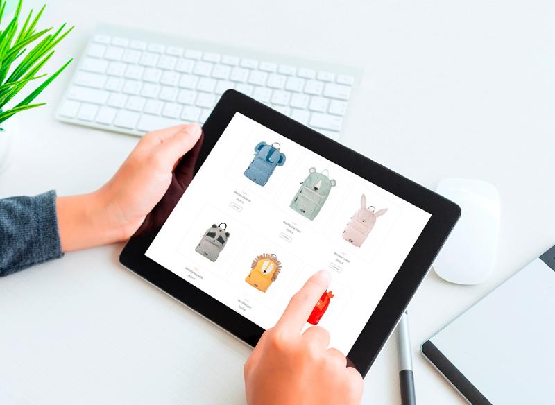Diseno Tienda Online de Esas Pequena Cosas