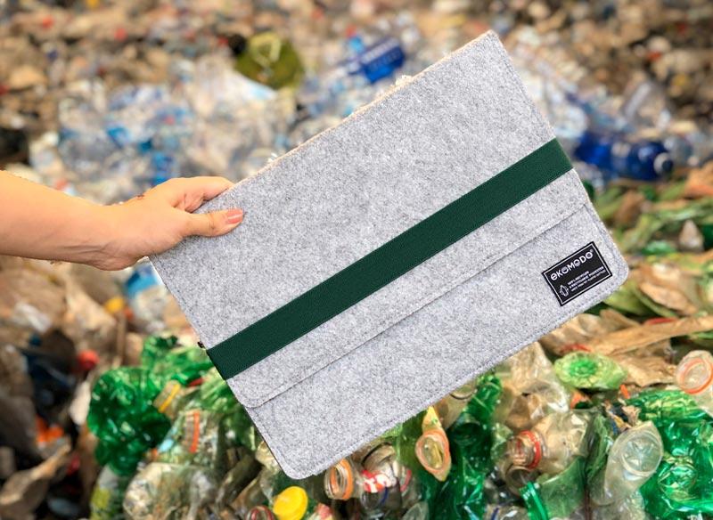 Packaging sostenible de Ekomodo
