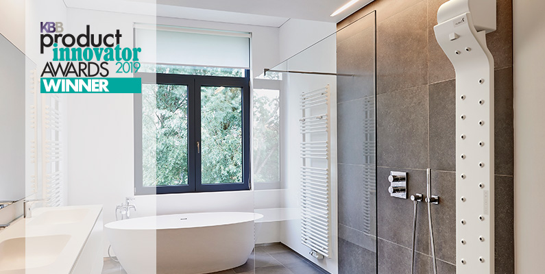 El secador corporal de la empresa navarra Valiryo logra en EEUU el premio al mejor producto de baño de 2019