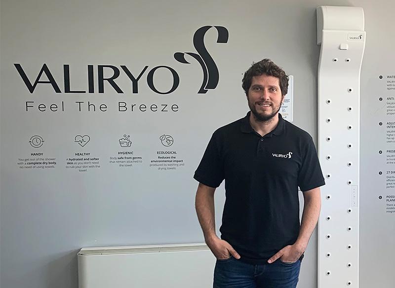 Fundadores de Valiryo Body Dryer: Ion Esandi y Patxi Fabo