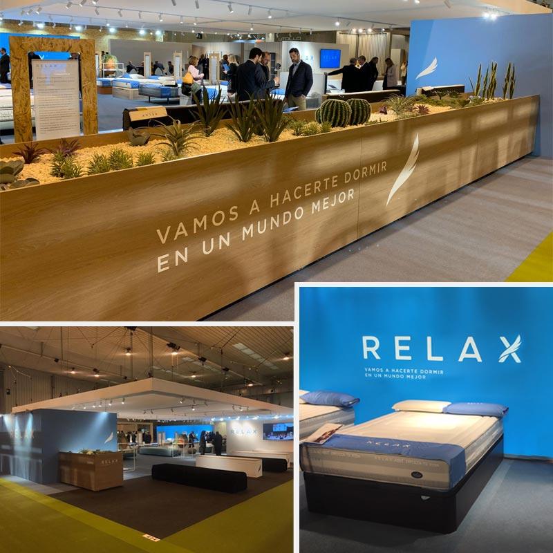 Feria del mueble Zaragoza 2020, Colchones Relax